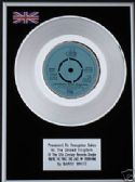 "BARRY WHITE-7""Platinum Disc-YOU'RE THE FIRST,THE LAST"